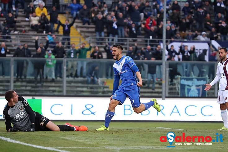 C'è chi inciampa e chi spicca il volo, Brescia-Salernitana 2 a 0 - aSalerno.it