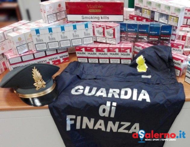 Beccato con 435 pacchetti di sigarette di contrabbando, blitz delle Fiamme Gialle a Nocera - aSalerno.it
