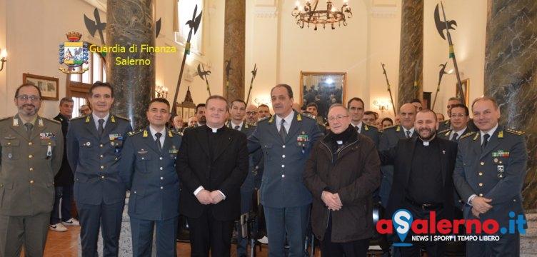 Guardia di Finanza di Salerno: c'è il nuovo cappellano in via Duomo – FOTO - aSalerno.it