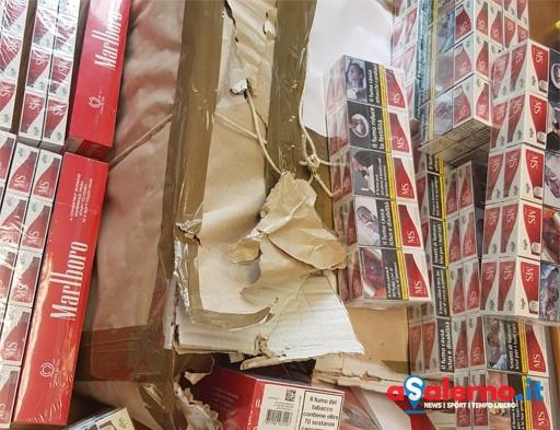 Sequestrate al porto di Salerno 6 chili di sigarette di contrabbando – FOTO - aSalerno.it
