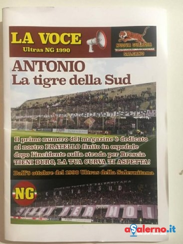"""Tornano le fanzine in Curva Sud Siberiano: nasce """"La Voce"""" della Ng - aSalerno.it"""
