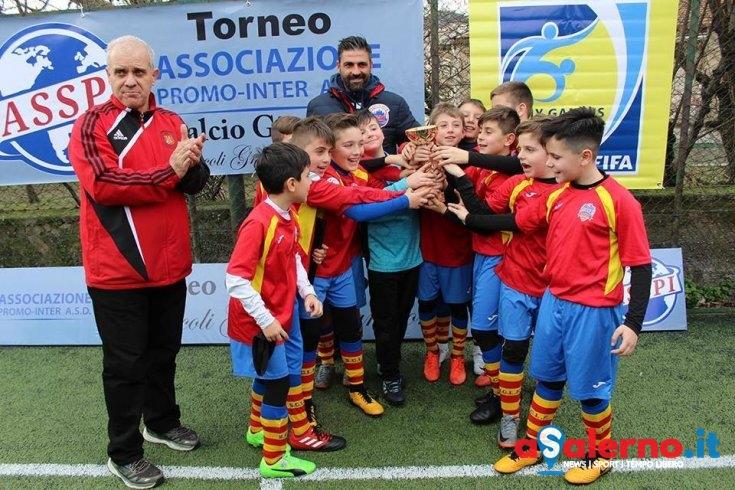 """La Soccer Academy vince la prima edizione del torneo """"Promo Inter – Piccoli grandi campioni"""" - aSalerno.it"""