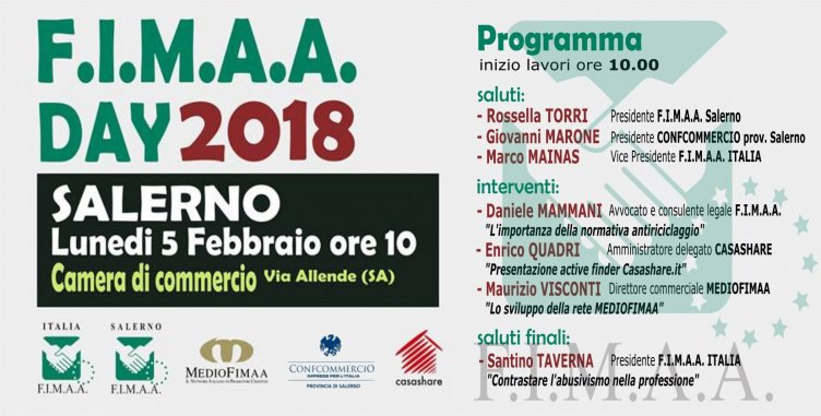 A Salerno il Fimaa Day 2018 - aSalerno.it