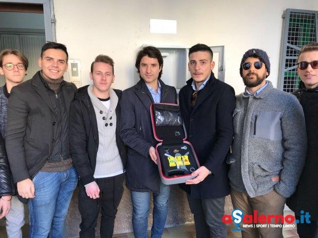 """Inaugurata la prima """"piazza del cuore"""": defibrillatore in strada a Torrione – LE FOTO - aSalerno.it"""