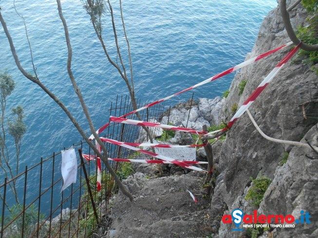 Discesa a mare abusiva in Costiera Amalfitana – FOTO - aSalerno.it