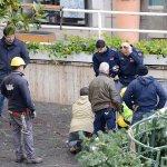 SAL - 15 01 2018 Salerno Piazza Portanova. Tentato suicidio. Foto Tanopress