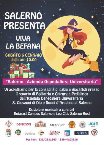 """Rete di associazioni per Pediatria del Ruggi: """"Viva la Befana"""" - aSalerno.it"""