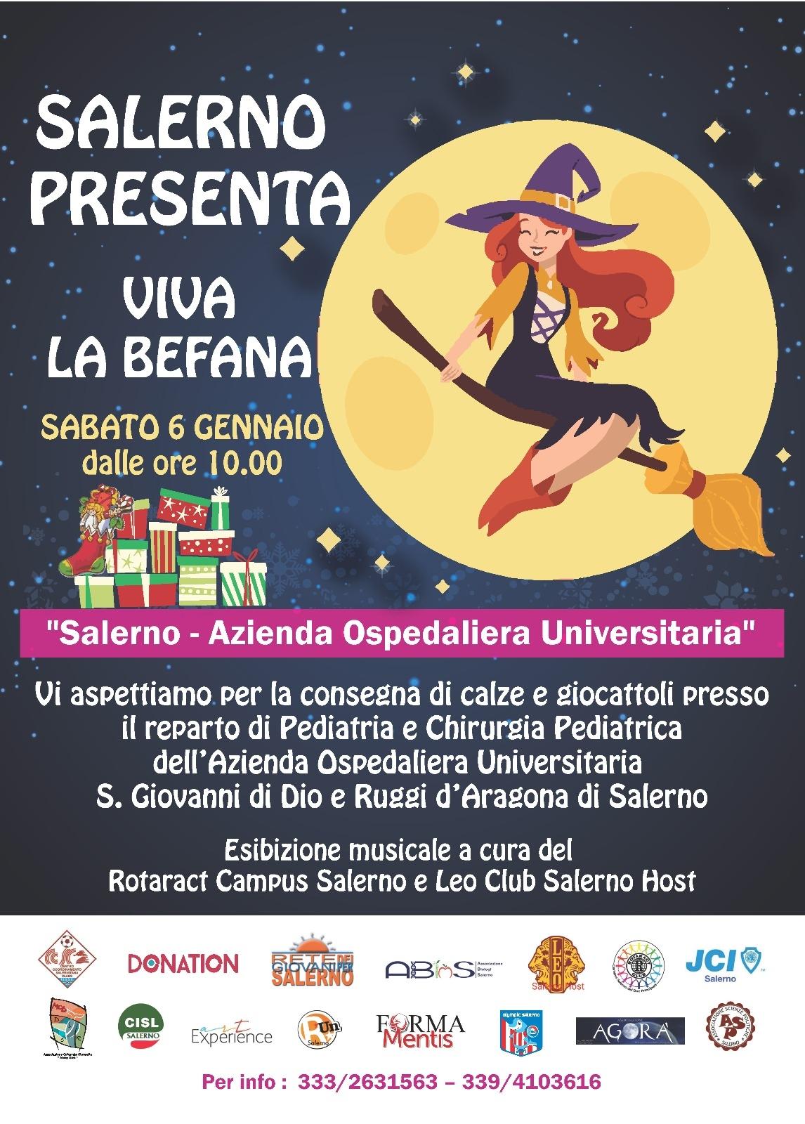 Rete Di Associazioni Per Pediatria Del Ruggi Viva La Befana