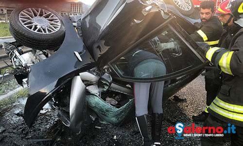Dramma in autostrada all'alba: scontro mortale per un 25enne di Calvanico e 68enne di Battipaglia - aSalerno.it