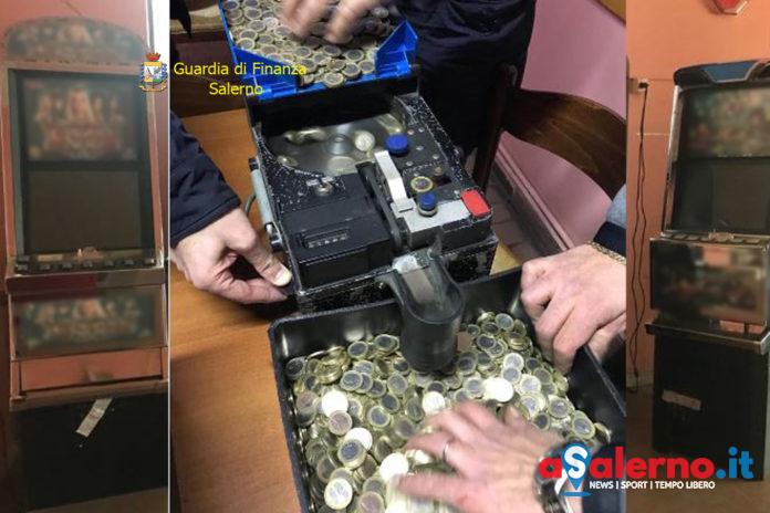 Slot machine non collegate alla rete, blitz della Finanza a Teggiano - aSalerno.it
