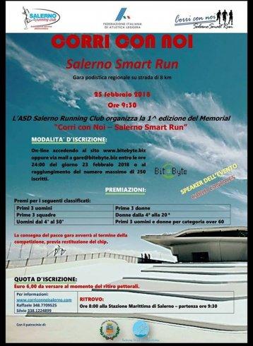 """Tutto pronto per la prima edizione della """"Corri con noi – Salerno Smart Run"""" - aSalerno.it"""
