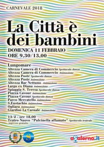 Il Carnevale a Salerno: il programma di domenica - aSalerno.it