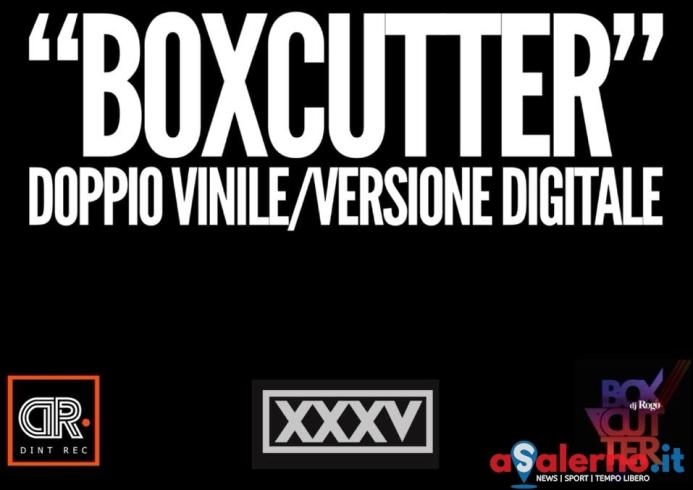 """""""Boxcutter"""", da Disclan la presentazione del doppio vinile di Dj Rogo - aSalerno.it"""