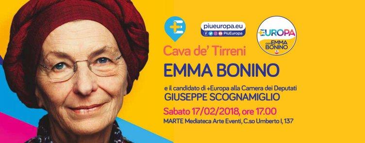 Emma Bonino a Cava de'Tirreni - aSalerno.it