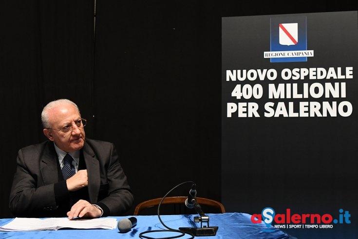 """""""Al Ruggi altri 160 posti di lavoro. Nuovo ospedale a Salerno? Sarà il più moderno d'Italia"""" - aSalerno.it"""