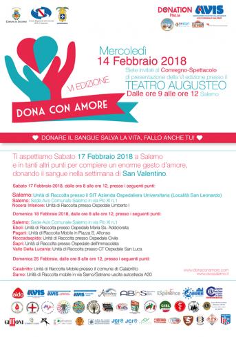 """A Salerno """"Dona con Amore"""", tutto pronto per la VI edizione - aSalerno.it"""
