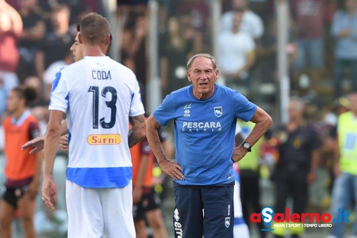 Pescara in crisi, Zeman si affida a Pettinari - aSalerno.it