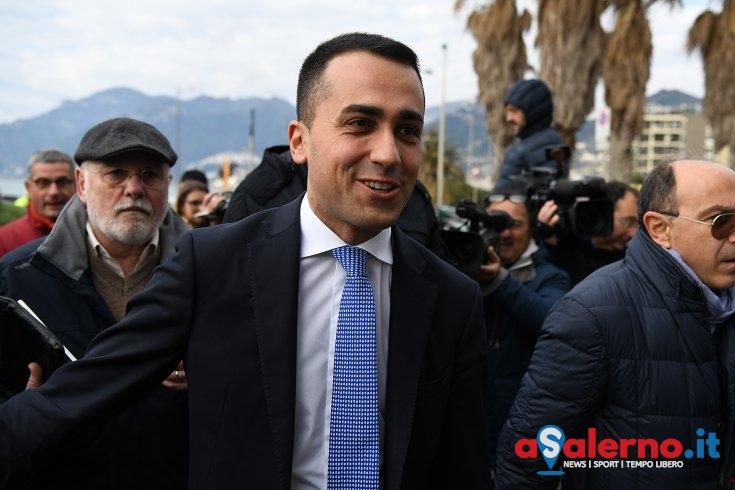 """Di Maio: """"Andremo sotto al Comune di Salerno per chiedere le dimissioni di De Luca jr"""" - aSalerno.it"""