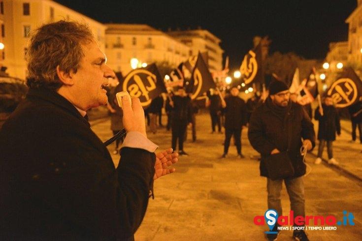 Forza Nuova, militanti in via dei Principati con Roberto Fiore – LE FOTO - aSalerno.it