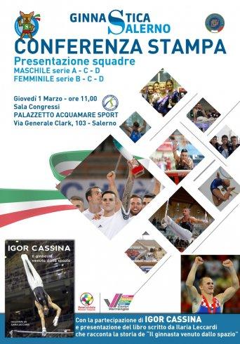 La Ginnastica Salerno presenta le nuove squadre, in città anche Igor Cassina - aSalerno.it