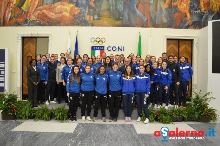 Al Comune di Salerno le nazionali Usa e Italia di pallamano femminile - aSalerno.it