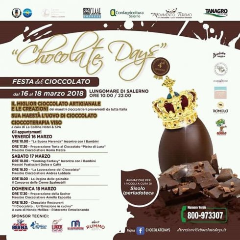 A marzo torna Chocolate Days a Salerno - aSalerno.it