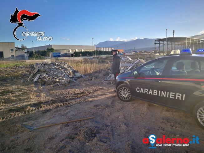 Sversavano rifiuti: scoperti dai Carabinieri cittadini italiani e rumeni - aSalerno.it