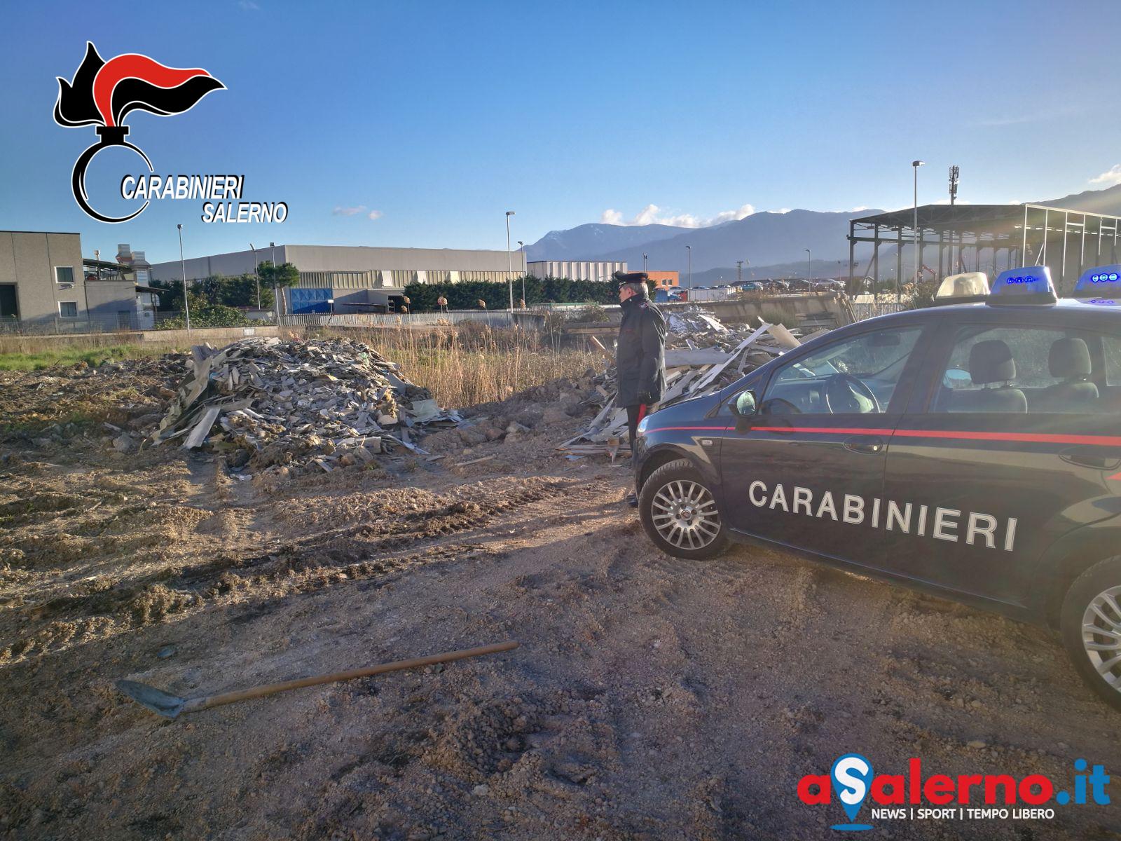 carabinieri rifiuti immondizia