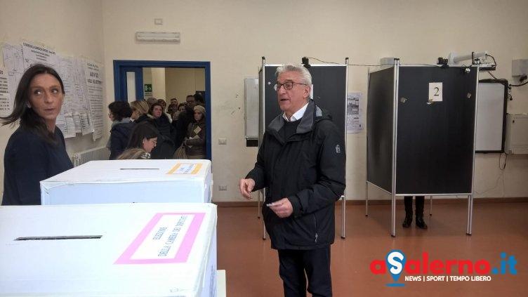"""Il sindaco Napoli al voto: """"Importante sarà affluenza.."""" - aSalerno.it"""