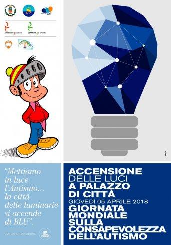 """Giornata mondiale sulla consapevolezza dell'autismo: a Salerno la campagna """"Light it up blue"""" - aSalerno.it"""