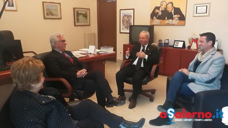 Sicurezza e furti nei rioni collinari: il sindaco incontra il Questore di Salerno – FOTO - aSalerno.it