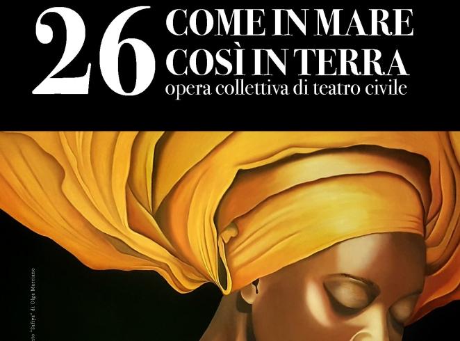 """""""26 – Come in mare così in terra"""", tutto esaurito al Teatro Augusteo - aSalerno.it"""