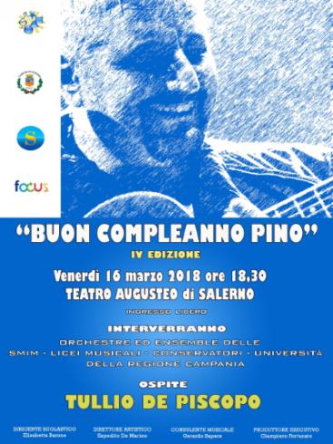 """""""Buon compleanno Pino"""": a Salerno l'evento per Pino Daniele - aSalerno.it"""