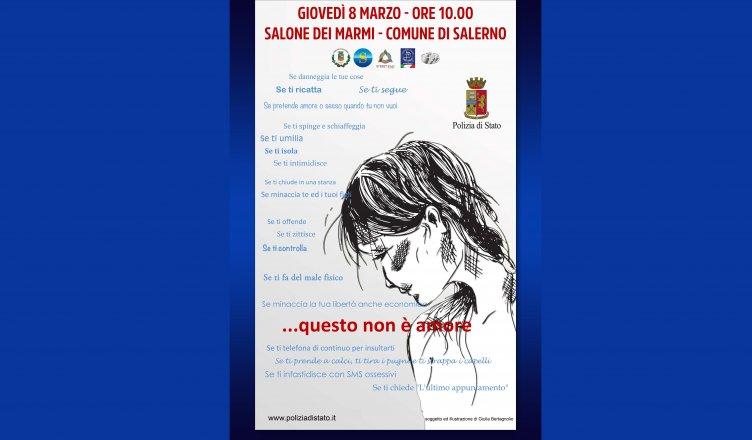 """""""Questo non è amore.."""" l'iniziativa per le donne a Salerno - aSalerno.it"""