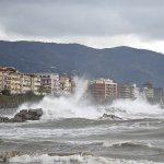 SAL - 21 03 2018 Salerno lungomare. Mareggiata. Foto Tanopress