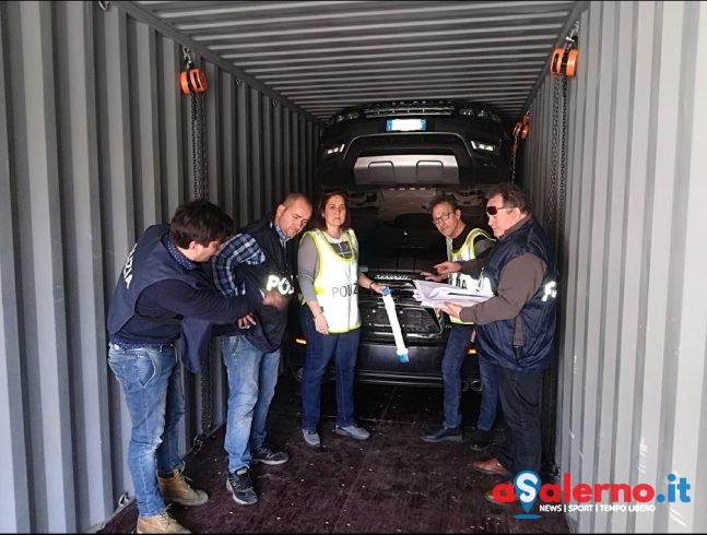 """Maserati e Jaguar da Salerno il """"viaggio"""" per il riciclaggio, scoperto traffico al Porto – FOTO - aSalerno.it"""