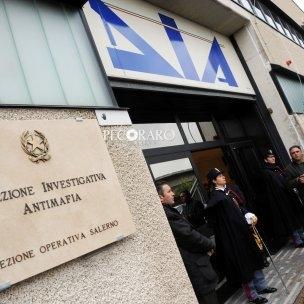 dia 21 01 2014 Salerno inaugurazione nuova sede della DIA Direzione Investigativa Antimafia  in via Wenner