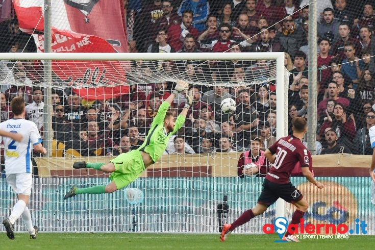 A Salerno il lampo di Donnarumma: l'ultima vittoria con i piemontesi all'Arechi - aSalerno.it