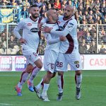 Frosinone Stadio Matusa. Frosinone - Salernitana Campionato Serie B