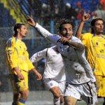 sal : frosinone - salernitana Nella foto l'esultanza di fava dopo il gol del 1-0 Foto Tanopress