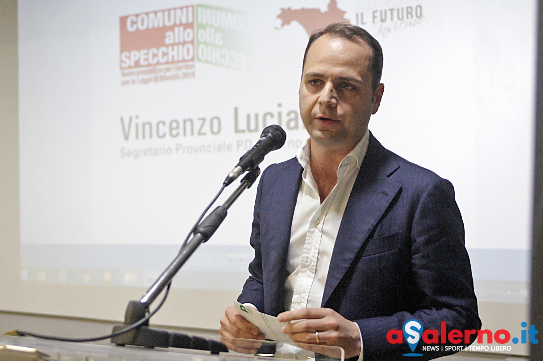 Salerno Mediterranea hotel. Meeting Partito democratico