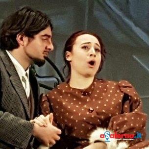 Valerio Pagano e Federica Marotta