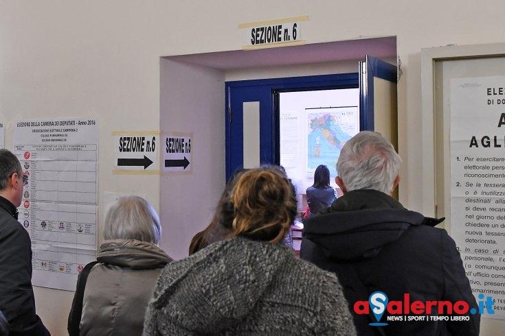 Affluenza alle 12.00, in provincia di Salerno ha votato il 17,95% - aSalerno.it