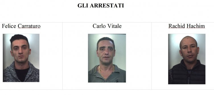 Estorsioni e droga, tre arresti - aSalerno.it