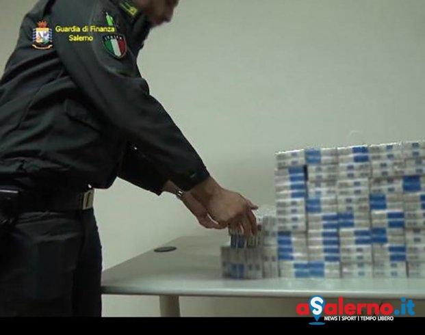 Sequestrati 144 pacchetti di sigarette di contrabbando – FOTO - aSalerno.it