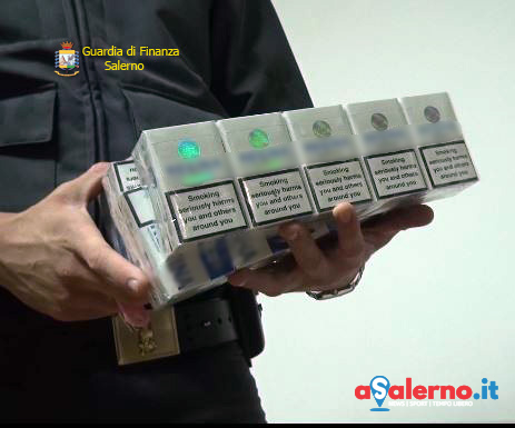Contrabbando di sigarette, sequestro a Pagani - aSalerno.it