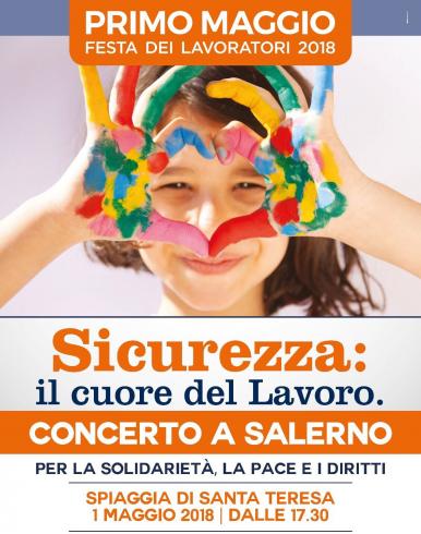 Il dramma delle morti bianche nel concerto del Primo Maggio di Salerno - aSalerno.it