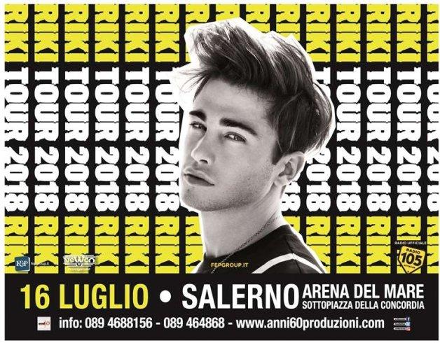 Riki all'Arena del Mare di Salerno: è già corsa al biglietto - aSalerno.it