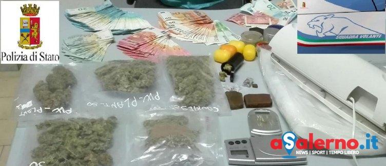 Bloccato a Pastena con le dosi, a casa marijuana e hashish: arrestato 25enne - aSalerno.it
