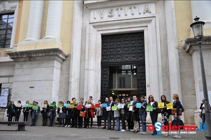 Avvocati salernitani contro l'operazione Poseidone – FOTO - aSalerno.it